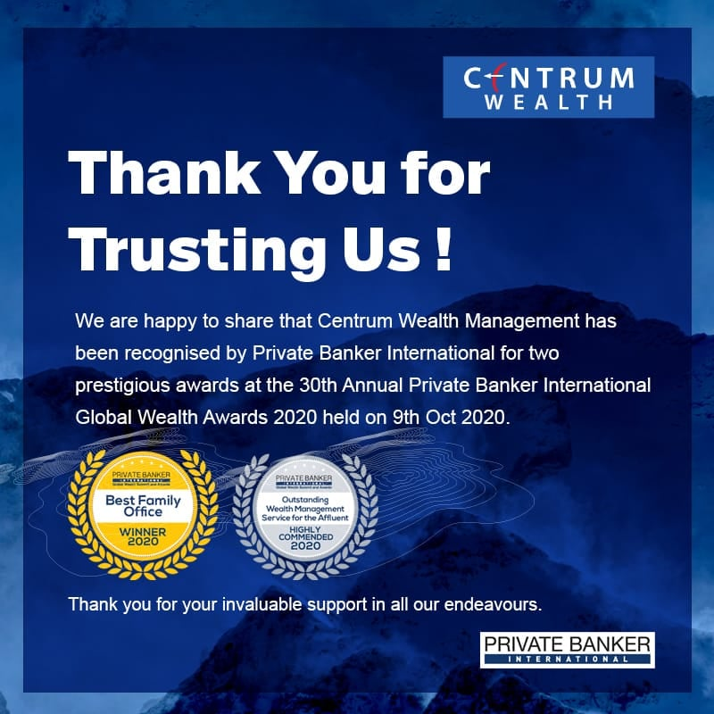 Centrum Wealth Awards